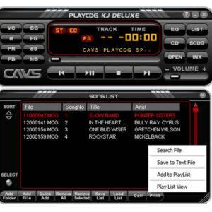PlayCDG KJ Deluxe