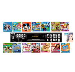 CAVS 205G USB Karaoke Machine + 240 Disney Songs in 15 CD+G discs